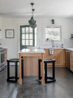 black white wood budget kitchen ideas