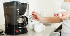 If you want to avoid harmful bacteria, here's how often you should clean your coffee maker! BREW 4 CUPS WHITE VINEGAR OR LEMON JUICE  THROU MACHINE WITH EMPTY FILTER BASKET THEN WATER 3 TIMES