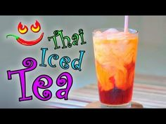http://CookingThaiFood.com Thai drink Recipe Video: How to Make Thai Iced Tea Recipe The is a recipe for a restaurant style Thai drink, Thai Ice Tea. Also referred to as Thai Iced Tea, Cha Yen or just Thai Tea. Another variation is called Cha Chak or Cha Chuk and it uses both un-sweetened evaporated milk and sweetened condensed milk. Cha Chak is...