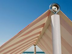 Make Some Shade with a Beach Tent - Lowe's Creative Ideas... @Jessi Parrett Spivey THIS MIGHT WORK FOR THE BEACH! :)