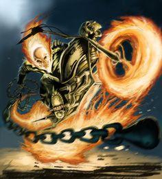 Ghost Rider By DazeVisual