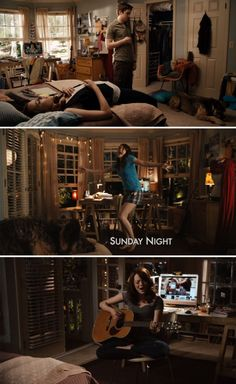 Olive/Emma Stone's bedroom in Easy A livinglongingly.com