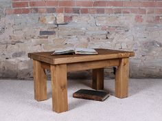 H&F Plank Coffee Table without Shelf