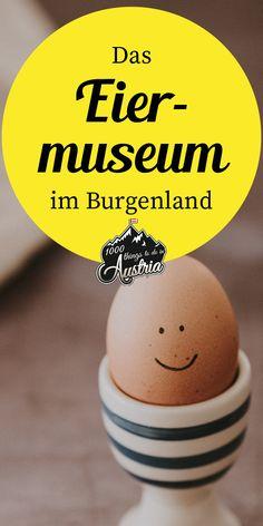 Eine bunte Eiersammlung, die jedes selbstgefärbte Osterei in den Schatten stellt, findest du im Eiermuseum im Burgenland. Alter, Travel, Travel Gifts, Trips, Traveling, Tourism, Outdoor Travel, Vacations