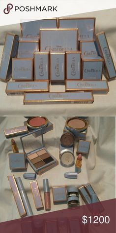 All 15 pieces of MAC Cinderella BNIB This iconic fairytale comes to life when the magic of Disney meets MAC. Sold out in record time, likely one of the most memorable and beautiful collections in MACs recent history. MAC Cosmetics Makeup