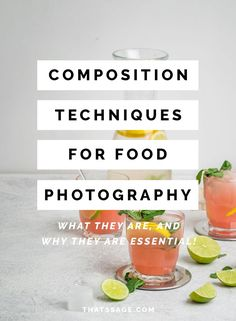 Composition is the backbone of food photography. Nail your composition and everything else can be layered on top to elevate your food images. Learn how to compose your food photography in this video tutorial. #foodstyling #foodphotography #foodblogger #foodblog