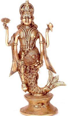 ✿ Matsya ~ Fish Avatar of Lord Vishnu✿