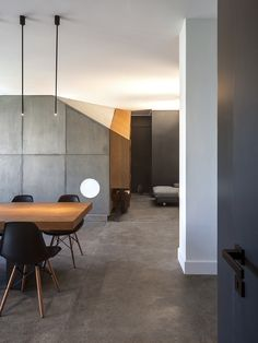 Check out these amazing apartment transformations - home tours through beautiful homes featuring concrete and wooden details, and interesting color palettes.