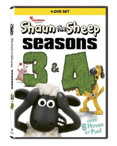 SHAUN THE SHEEP: Seasons 3 and 4 arrives on DVD and Digital HD February 7 http://makobiscribe.com/shaun-sheep-seasons-3-4-arrives-dvd-digital-hd-february-7/?utm_campaign=coschedule&utm_source=pinterest&utm_medium=Makobi%20Scribe&utm_content=SHAUN%20THE%20SHEEP%3A%20Seasons%203%20and%204%20arrives%20on%20DVD%20and%20Digital%20HD%20February%207 #disney