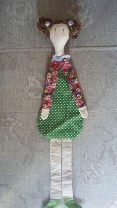 Marcador de livro boneca Fabric Dolls, Paper Dolls, Art Dolls, Felt Crafts, Diy And Crafts, Crafts For Kids, Quilting Projects, Sewing Projects, Diy Clothes Bag