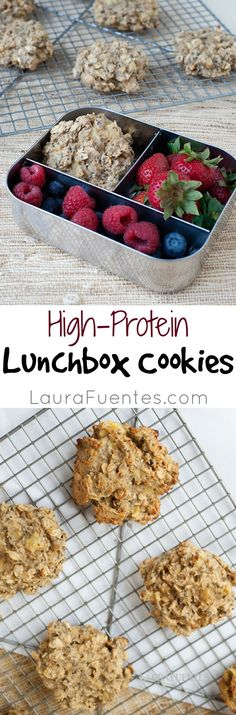 high protein lunchbox cookie this recipe is much healthier than any protein or granola bar