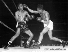 This Day In Boxing History - February 27, 1948, Kid Gavilan vs Ike Williams. Two of the greatest fighters in ring history slug it out in Madison Square Garden. Gavilan gets the nod. www.boxinghalloffame.com facebook - boxing hall of fame las vegas