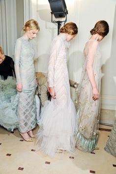 So dreamily Downton. Valentino Couture.