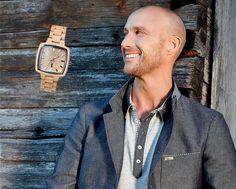 """""""Impression"""" Pionieruhr für """"Ihn"""" - Holzuhr für trendige und trachtige Outfits Wood Watch, Austria, Outfits, Design, Fashion, People, Outfit, Moda, La Mode"""