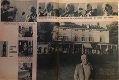 Charlie Chaplin swedish interview December 1957. RadioTv. Pages 10-11