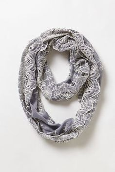 Eyelet Infinity Scarf from anthropologie
