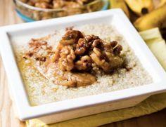 Sticky Banana Bread Quinoa Breakfast Bowl [RECIPE]