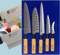2 Kitchen Knife Sets Chef Knives Sashimi Chef's Knife Stainless Steel Cutlery
