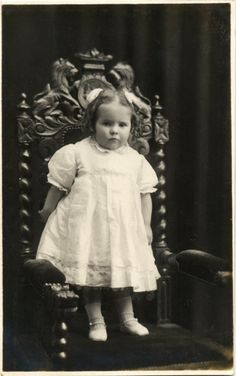 Antique Real Photo Postcard  Little Girl c. 1900s by acanthe, £3.00