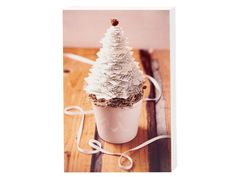 Farbe - Weihnachtsbäumchen aus Papier - ein Designerstück von ElisabethCoelfen bei DaWanda
