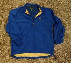 Lauren Ralph Lauren Jacket Windbreaker Medium Royal Blue & Yellow #LaurenRalphLauren #jacket