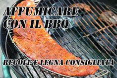 """Affumicare con il barbecue    la maiuscola sulla parola """"grigliata"""""""