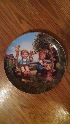 Apple Tree Boy & Girl - Hummel Little Companion Collector Plate