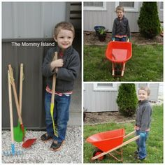 The Mommy Island: Kids Love To Garden With Magic Cabin!   Real child-sized tools will give your child the chance to help in garden! Read our review.