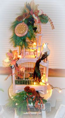 Holiday Birdcage