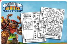 Skylanders Party Supplies & Birthday Invitations UPrint™ About Me & Party Ideas
