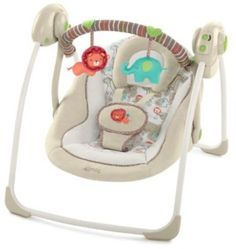 Portable-Baby-Swing-Cradle-Bouncer-Rocker-Jungle-Boys-Girls-Infant-Home-Mom-New