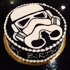 Star Wars storm trooper cake from The Bake Shoppe
