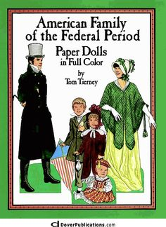 American Family of the Federal Period Paper Dolls