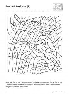 ausmalbild malen nach zahlen: osterküken ausmalen kostenlos ausdrucken | colornumber | malen