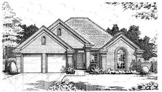 House Plan 66180 Elevation