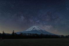 Mt. Fuji (Japan) under the Milky Way | by Yuga Kurita