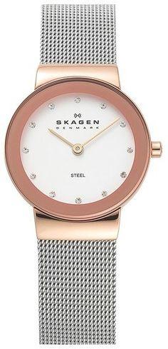 Skagen Round Case Mesh Strap Watch, 26mm - $115.00