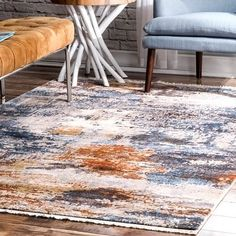 Area Rug Sizes, Blue Area Rugs, Polyester Rugs, Rug Size Guide, Machine Made Rugs, Rugs Usa, Buy Rugs, Contemporary Rugs, Fashion Room