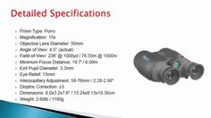 Canon 15x50 Image Stabilization All Weather Binoculars Review