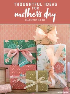 Browse top DIY ideas for a thoughtful Mother's Day! www.LiaGriffith.com #mothersday #diymothersday #diygifts #DIYgift