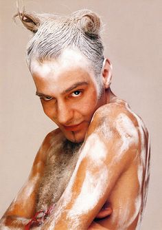 John Galliano OMG  This guy is smoking meth and shooting up drain cleaner.