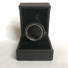 Wood and Stainless Steel Comfort-Fit Rings, African Blackwood Rings Cool, Unique Rings, Wood Rings, Metal Bands, Wood Turning, Mind Blown, Laser Engraving, Types Of Metal, New Product