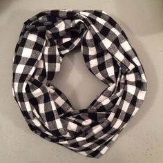 Perfect for fall Soft warm flannel infinity scarf  by shannabanana