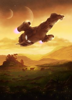 Keep Flying by eiilart #Serenity #Firefly