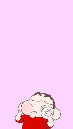 Sinchan Wallpaper, Iphone Background Wallpaper, Kawaii Wallpaper, Galaxy Wallpaper, Cute Cartoon Boy, Sinchan Cartoon, Doraemon Cartoon, Crayon Shin Chan, Doraemon Wallpapers