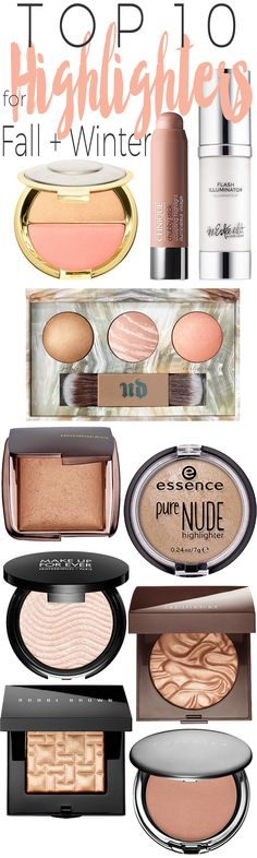 Top 10 Highlighters for Fall and Winter