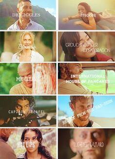 Sawyer's nicknames for the other characters on 'Lost' were hilarious. Miss that show.