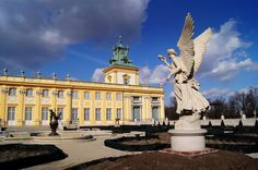 Poľsko,Varšava-Wilanow-Park 10