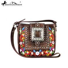MW345-8360 Montana West  Buckle Collection Crossbody-Brown  #western #momtanawest #west #handbaloverusa #rustic #rusty #country #purse #countrygirl #cattle #american #cowgirl #texas #texan #USA #cowgirl #cattle #countryside #countrylife #gun #guncarry #aztec