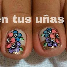 Pedicure Nail Art, Toe Nail Art, Toe Nails, Acrylic Nails, Manicure, Nail Art Designs, Pedicures, Style Ideas, Toenails